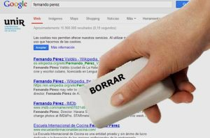 borrar video de internet google